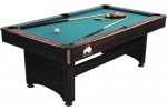 Pooltable Rosewood